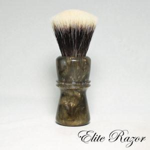 wet-shave-brush-handle-neo-resinate-antique-bronze-24-26mm-bob-quinn-elite-razor-1