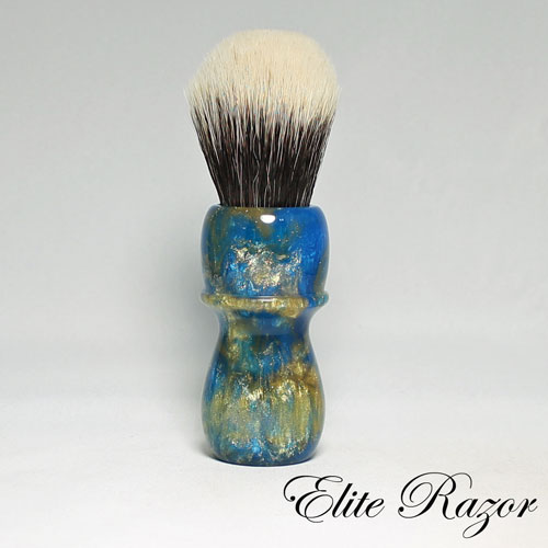 wet-shave-brush-handle-neo-resinate-blue-and-gold-24-26mm-1-bob-quinn-elite-razor-1