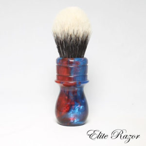 wet-shave-brush-handle-neo-resinate-blue-and-red-24-26mm-1-bob-quinn-elite-razor-1