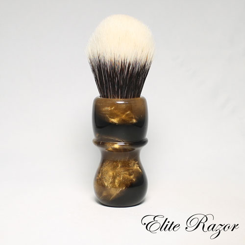 wet-shave-brush-handle-neo-resinate-brown-and-gold-24-26mm-1-bob-quinn-elite-razor-1