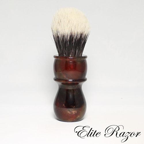 wet-shave-brush-handle-neo-resinate-dark-amber-24-26mm-bob-quinn-elite-razor-1